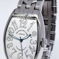 Franck Muller 45mm Automatic pre-owned Casablanca White