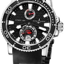 Ulysse Nardin Maxi Marine Diver Steel 42.7mm Black No numerals