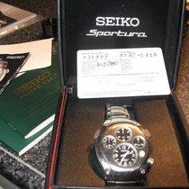 Seiko Staal 40mm Quartz slq007 9T82-0A50 tweedehands Nederland, Baflo