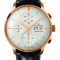 Junghans Meister Chronoscope Rose gold 40,7mm