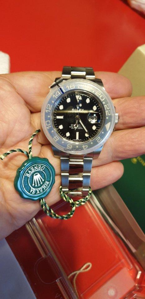 newest b3f1f 844a1 Rolex GMT-Master II NOS