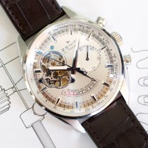 Zenith El Primero Chronomaster Steel 42mm Silver No numerals United States of America, Virginia, Sterling