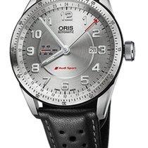 Oris 01 747 7701 4461-07 5 22 87FCS Steel Audi Sport 44mm new