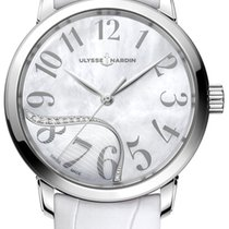 Ulysse Nardin Jade Steel 37mm Mother of pearl