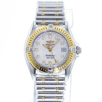 Breitling Callistino Steel 28mm Mother of pearl