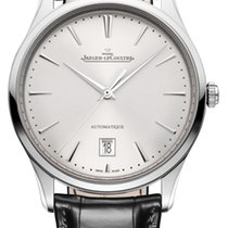 Jaeger-LeCoultre Master Ultra Thin Date Steel 39mm Silver United States of America, Iowa, Des Moines