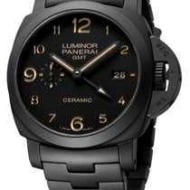 Panerai Luminor 1950 3 Days GMT Automatic PAM438 1950 pre-owned