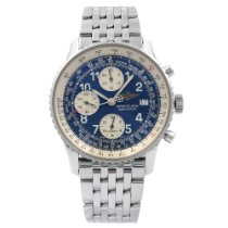 Breitling Old Navitimer Steel 41.5mm Blue Arabic numerals United States of America, New York, NYC