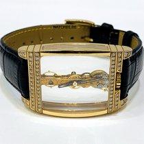 Corum Golden Bridge Rose gold 34mm Transparent