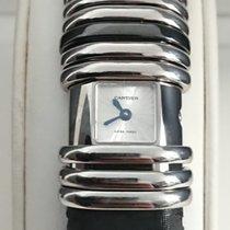 Cartier nowość Kwarcowy Zegarek wysadzany kamieniami szlachetnymi 16mm Stal Szkiełko szafirowe
