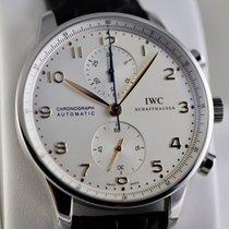 IWC Portuguese Chronograph Acier 40,9mm Argent Arabes France, Cannes