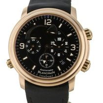 Blancpain Léman Réveil GMT Rose gold 40mm Black United States of America, Illinois, BUFFALO GROVE