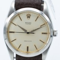Rolex Oyster Precision Steel 36mm Silver No numerals United States of America, Georgia, ATLANTA