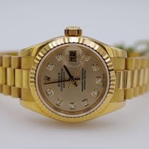 Rolex 179178 Or jaune 2001 Lady-Datejust 26mm occasion