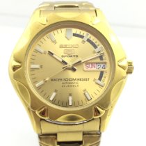 Seiko new Automatic 39mm Gold/Steel Glass