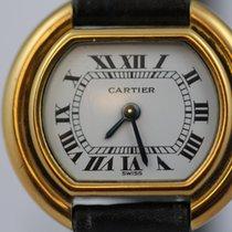 Cartier Tonneau Gelbgold Weiß Römisch