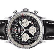 Breitling Navitimer Cosmonaute Steel 43mm Black Arabic numerals United States of America, New York, Greenvale