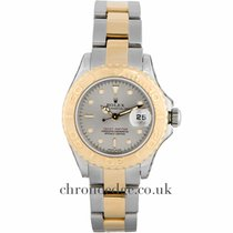 Rolex Yachtmaster Ladies Steel & 18ct Yellow Gold 169623