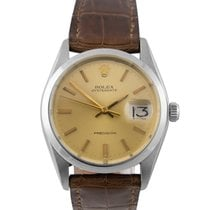 Rolex Oysterdate  Steel with Champagne Dial, 6694