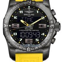 Breitling Cockpit B50 new Quartz Chronograph Watch with original box