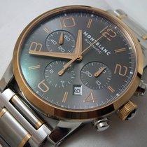 Montblanc Timewalker Chronograph Steel/Gold