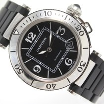 Cartier PASHA SEATIMER AUTOMATIC STEEL & RUBBER