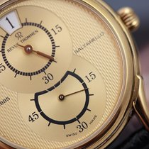 Revue Thommen Gents Saltarello Manual Wind  35mm Gold Plated/L...