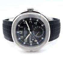 Patek Philippe 5164a-001 Aquanaut Travel Time Dual Time...