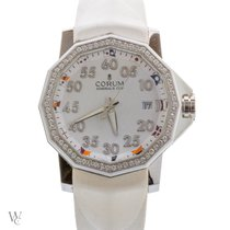 Corum 40mm Automatic 2016 pre-owned Admiral's Cup Competition 40 White