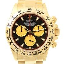 勞力士 Cosmograph Daytona 18 K Yellow Gold Black Automatic...
