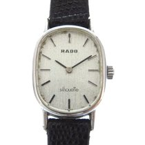 ラドー Hand Winding Silver Silhouette Watch Stainless Steel /...