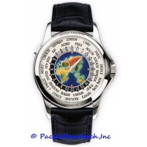 Patek Philippe World Time White gold 39mm Champagne United States of America, California, Newport Beach