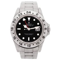 Rolex EXPLORER II 16570 With Black Dial