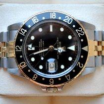 Rolex [VINTAGE+PLEXI] GMT-Master Steel & Gold 1675/3 - 1985