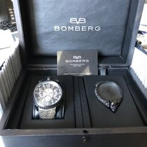 Bomberg Carbon Automatic 47mm pre-owned Bolt-68