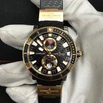 Ulysse Nardin Maxi Marine Diver pre-owned 45mm Gold/Steel