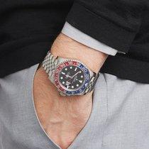 Rolex GMT-Master II Pepsi Roestvrij Staal 126710BLRO - W5478