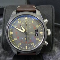 IWC Pilot Chronograph Top Gun Miramar tweedehands 46mm Keramiek