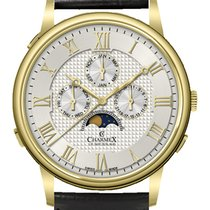 Charmex Acero 42mm Cuarzo Charmex Wildenstein 3075 Qz mens watch nuevo