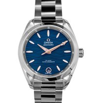 Omega Women's watch Seamaster Aqua Terra 34mm Automatic new Watch with original box and original papers