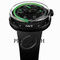 HYT new Manual winding PVD/DLC coating 48,8mm Steel Sapphire Glass