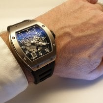 Richard Mille RM010 Ouro branco RM 010 48mm