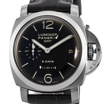 Panerai pre-owned Manual winding 44mm Black Sapphire Glass 10 ATM