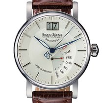 Bruno Söhnle Steel 43mm Quartz 1 17-13073-241 new