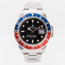 Rolex 16710 Staal 2005 GMT-Master II 40mm tweedehands