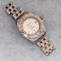 Breitling Galactic 32 Gold/Steel 32mm Silver United States of America, Texas, Houston