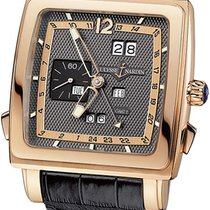 Ulysse Nardin Quadrato Dual Time Perpetual Rose gold 42mm
