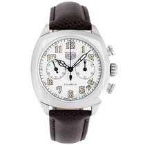 TAG Heuer Monza Staal 37.5mm Wit