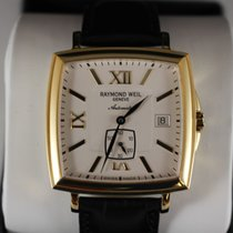 Raymond Weil Yellow gold 38mm Automatic 2836-P-00807 new