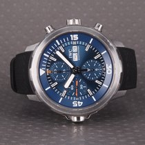 IWC Aquatimer Chronograph Steel 44mm Blue No numerals
